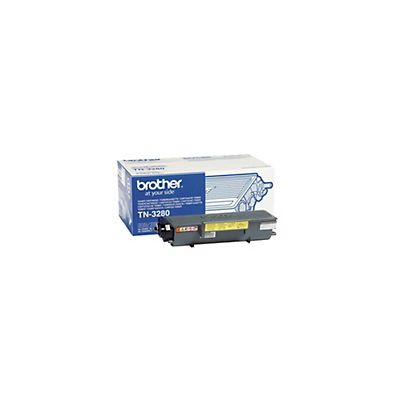 Brother Toner originale TN-3280, Nero, Pacco singolo