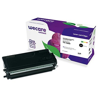 Staples Toner rigenerato compatibile con Brother TN-7600, 4201157, Nero, Pacco singolo