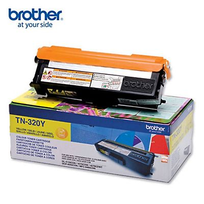 Brother Toner originale TN-320Y, Giallo, Pacco singolo