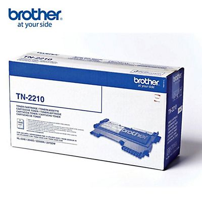 Brother Toner originale TN-2210, Nero, Pacco singolo