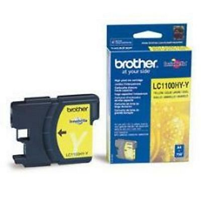 Brother , Materiale di consumo, Cart giall mfc5890cn/6490cw/dcp6690, LC-1100HYY