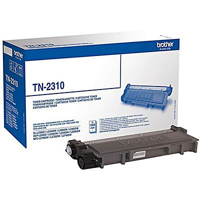 Brother Toner originale TN-2310, Nero, Pacco singolo
