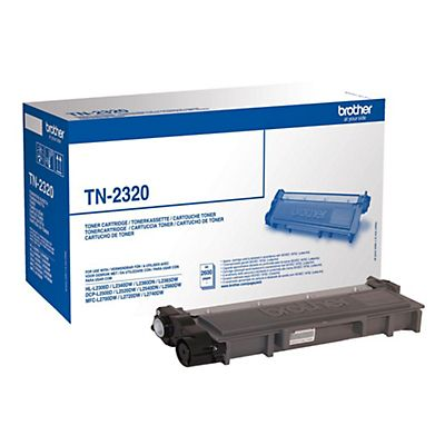 Brother Toner originale TN-2320, Nero, Pacco singolo