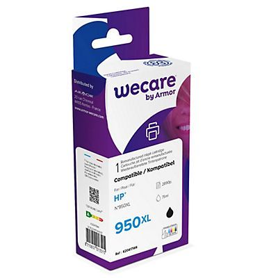 Staples HP 950XL Cartuccia inkjet Rigenerata Nero
