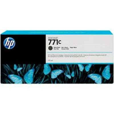 HP , Materiale di consumo, Cart. nero opaco   771c da 775 ml, B6Y07A