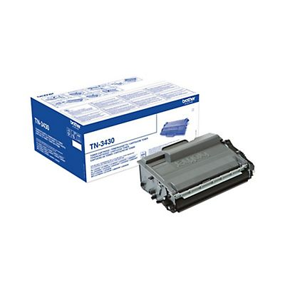 Brother Toner TN-3430, Nero, Pacco singolo