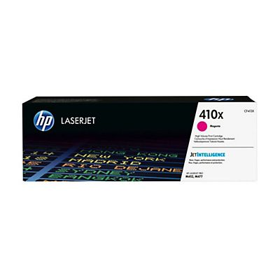 HP , Materiale di consumo, Hp 410x high yield magenta toner, CF413X