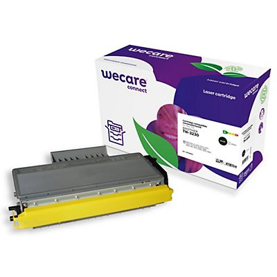 Wecare Toner rigenerato compatibile con BROTHER TN-3230, Nero, Pacco singolo