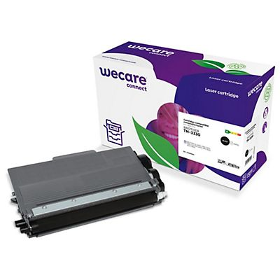 Wecare Toner rigenerato compatibile con BROTHER TN-3330, Nero, Pacco singolo