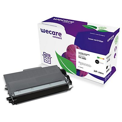 Wecare Toner rigenerato compatibile con BROTHER TN-3380, Nero, Pacco singolo