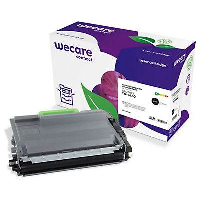 Wecare Toner rigenerato compatibile con BROTHER TN-3480, Nero, Pacco singolo