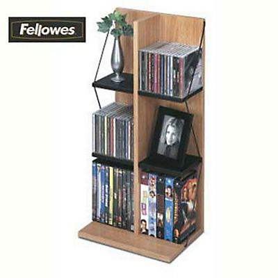 fellowes mobile porta cd dvd e vhs staples. Black Bedroom Furniture Sets. Home Design Ideas