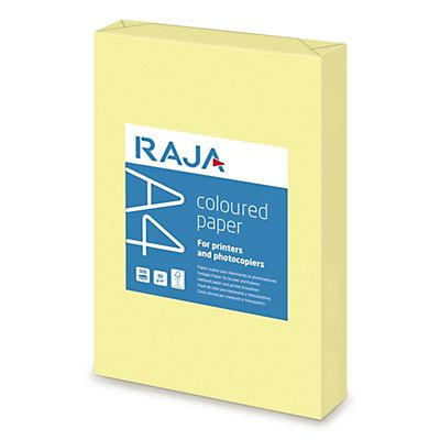 Staples Coloured paper Carta Colorata A4 per Laser e Getto dinchiostro 80 g/m² Giallo canarino 500 fogli