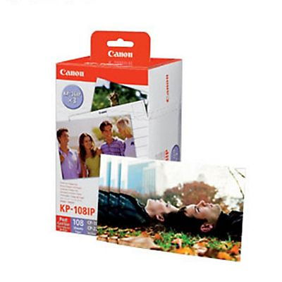 Canon Cartuccia inkjet Selphy KP-108IP, 3115B001, Tricolore, Multipack