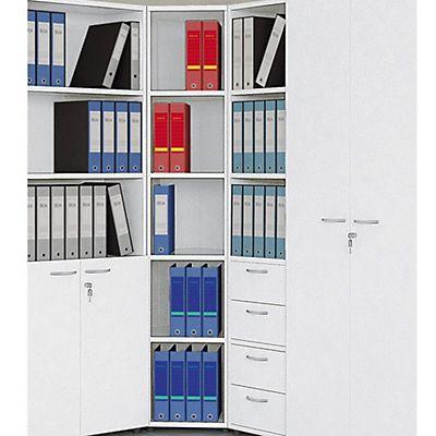 Classic Libreria ad Angolo, dimensioni 40/84,2 x 64,8 x 196 cm ...
