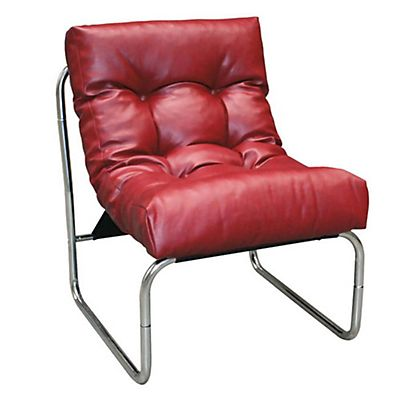 Poltroncina modulare Soft - Rosso bordeaux