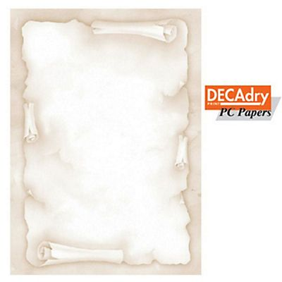 Decadry carta a tema a4 210 x 297 mm 39 designed papers for Immagine pergamena da colorare