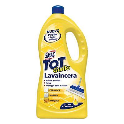 SMAC Tot Giallo Detergente Multiuso Per Pavimenti Il Lavaincera Flacone 1 L
