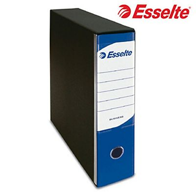 Esselte Business Registratore archivio, Formato Commerciale, Dorso 8 cm, Cartone, Blu