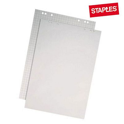 Staples blocco di ricambio per lavagne a fogli mobili - Fogli adesivi per mobili ...
