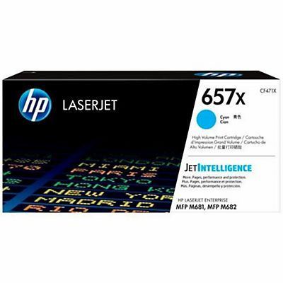 HP , Materiale di consumo, Hp 657x high yield cyantoner, CF471X