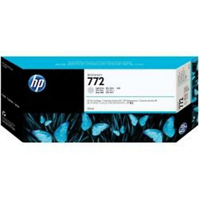 HP , Materiale di consumo, Cart. ink 772-300 ml grigio chiaro, CN634A