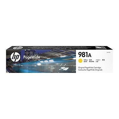 HP , Materiale di consumo, Cartuccia giallo hp 981a pagewide, J3M70A