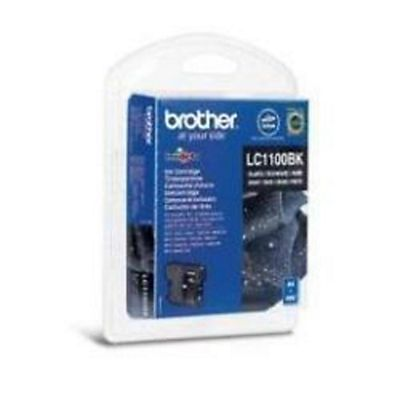 Brother , Materiale di consumo, Cart nera mfc5860cn/6490cw/dcp6690c, LC-1100BKBP