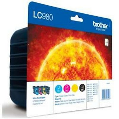 Brother , Materiale di consumo, Multipack 300 pag x dcp 145c/165c, LC980VALBP