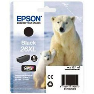 Epson , Materiale di consumo, Cart.nero 26xl orso polare, C13T26214012