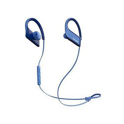 0766ec87719 Panasonic , Cuffie/auricolari wireless, Auricolare bluetooth sport azzurro,  RP-BTS35E-
