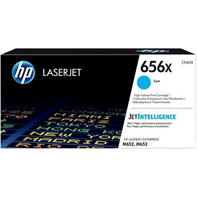 HP , Materiale di consumo, Hp 656x high yield cyan toner, CF461X