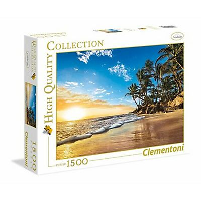 Clementoni , Puzzle, Tropical sunrise, 31681