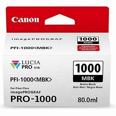 Canon , Materiale di consumo, Ink pfi-1000 mbk matt black, 0545C001AA