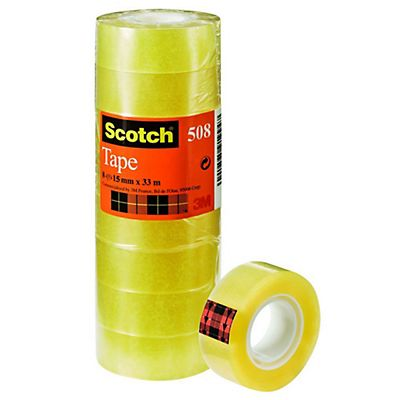 Scotch® Nastro 508 Trasparente 15 mm x 33 m