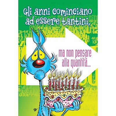 Biglietti Auguri Matrimonio Lupo Alberto : Biglietto auguri lupo alberto buon compleanno