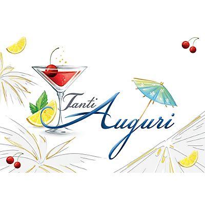 Auguri Matrimonio Non Banali : Biglietto auguri cocktail cm staples