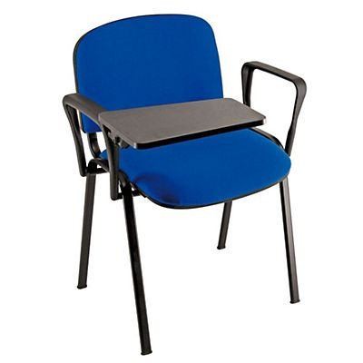 Bracciolo con scrittoio rettangolare per sedie attesa impilabili ...