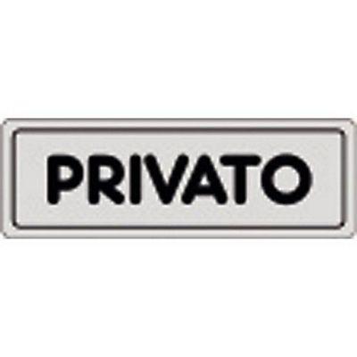 Jet Privato Prezzo Acquisto : Cartello adesivo privato pvc cm staples