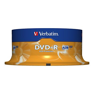 Verbatim DVD-R 4,7 GB 16x Spindle
