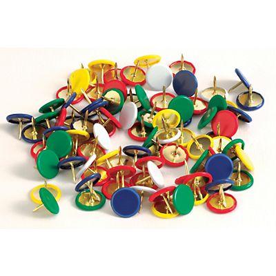 72a3a776c4 Staples Puntine da disegno, Colori assortiti (confezione 100 pezzi ...