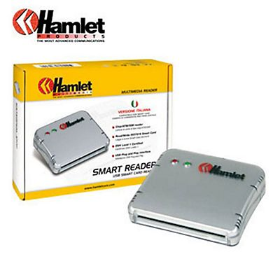 HAMLET Lettore USB di Smart Card per firma digitale
