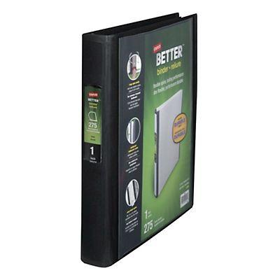 Nero, Dorso 7 cm per Presentazioni A4 Eleganti Personalizzabili 6 Raccoglitori ad Anelli