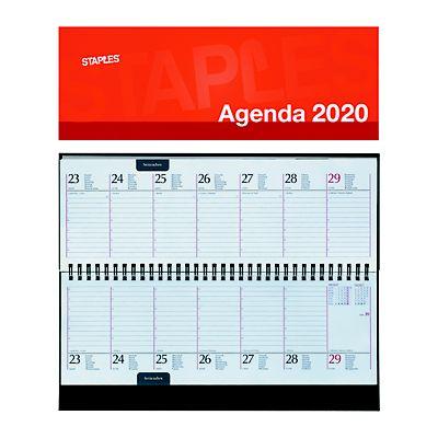 Calendario Tascabile 2020 Da Stampare.Lediberg Calendario Settimanale 2020 Spiralato Con Copertina 28 8 X 0 8 X 11 7 Cm