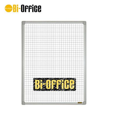 Bi-Office Lavagna, Superficie magnetica quadrettata, Cornice in plastica, 450 x 600 mm