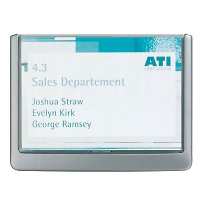 Durable Porta targhe Click Sign - F.to cm 14,9 x 10,55
