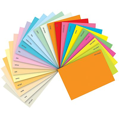Staples Coloured paper Carta Colorata A4 per Laser e Getto dinchiostro 160 g/m² Giallo intenso 250 fogli