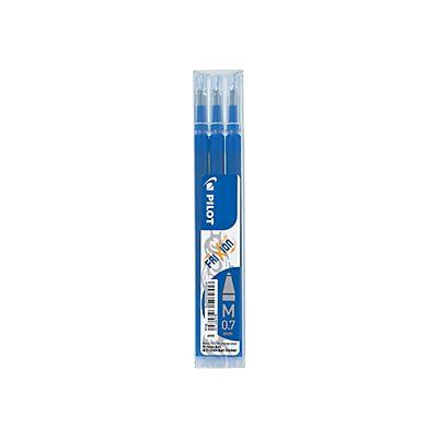 pilot frixion refill per penna gel punta media da 0 7 mm inchiostro blu confezione 3 pezzi. Black Bedroom Furniture Sets. Home Design Ideas