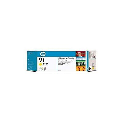 HP , Materiale di consumo, Cart. 91 giallo 775 ml vivera, C9469A