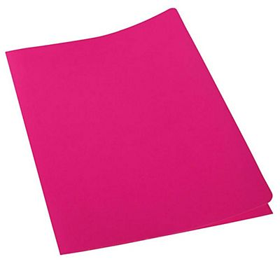 new concept 5925e e51f9 Cartelline a 3 lembi fluo in cartoncino - Colore Rosa Fluo (confezione 20  pezzi)
